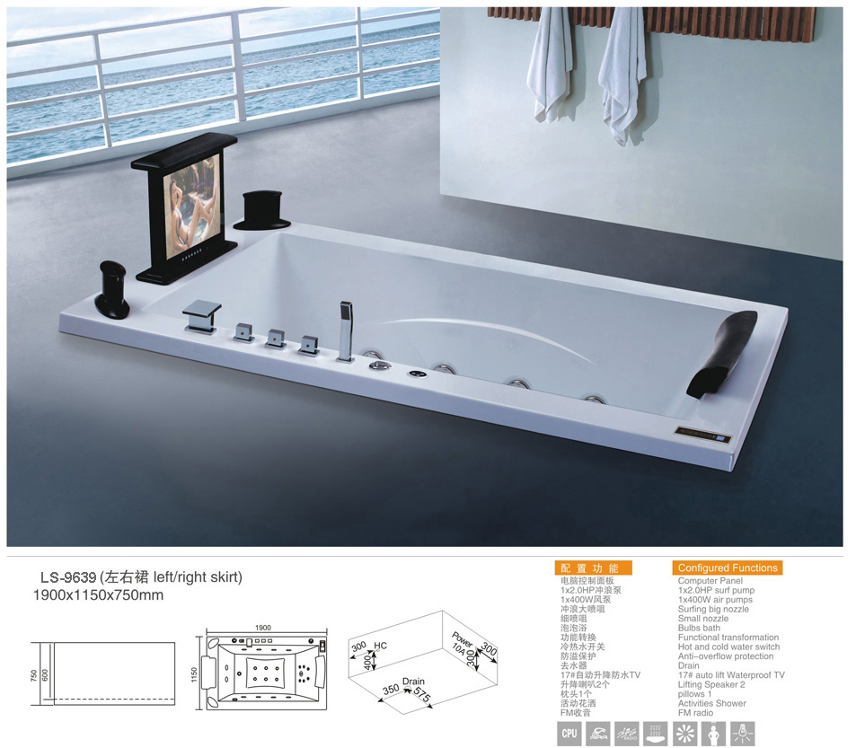 Built in bathtub - Foshan Luxe Sanitary wares Co., Ltd.