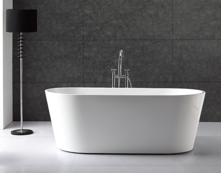 modern freestanding tub 1700x800x600mm