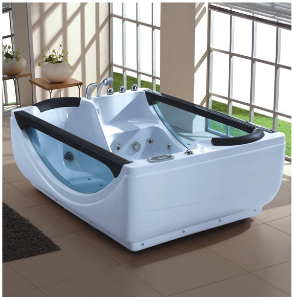 LS-9108 two person whirlpool bathtub - China Foshan Mailele Building ...