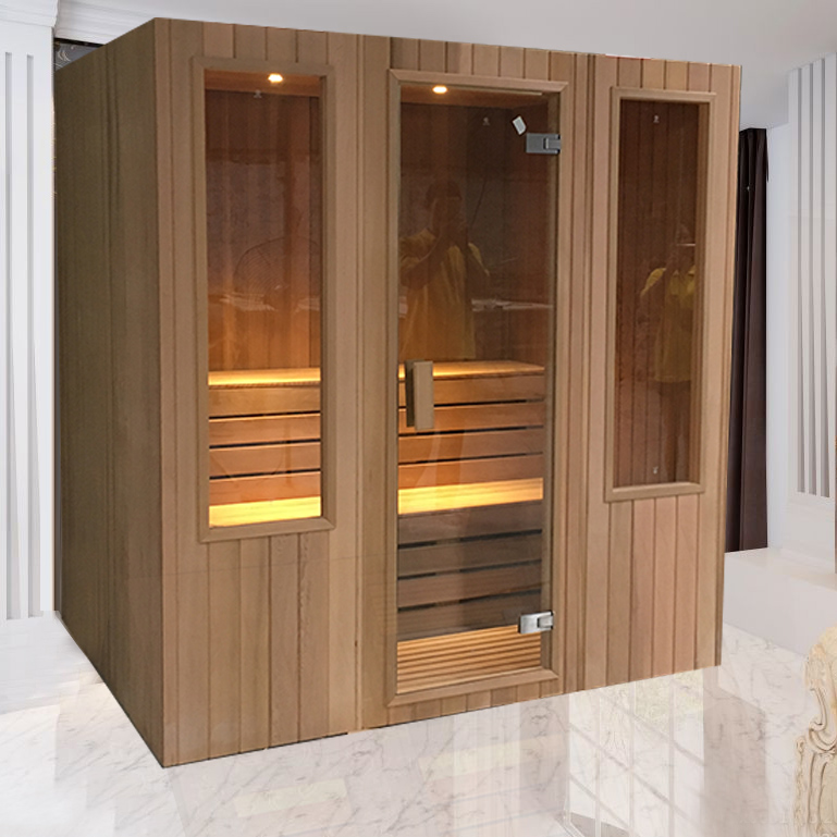 red cedar infrared sauna room 1.8m