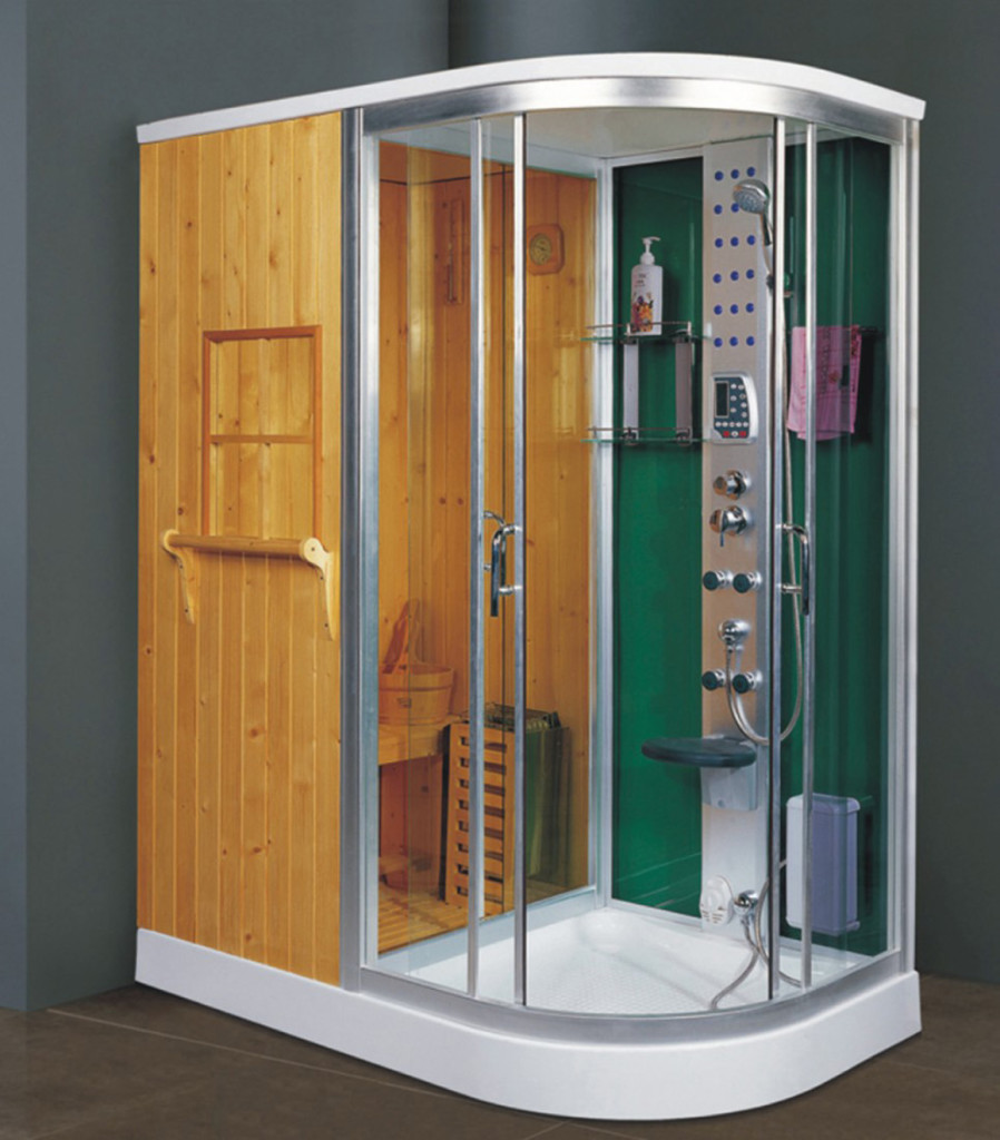 steam shower room and sauna combo 1.6m 1.7m