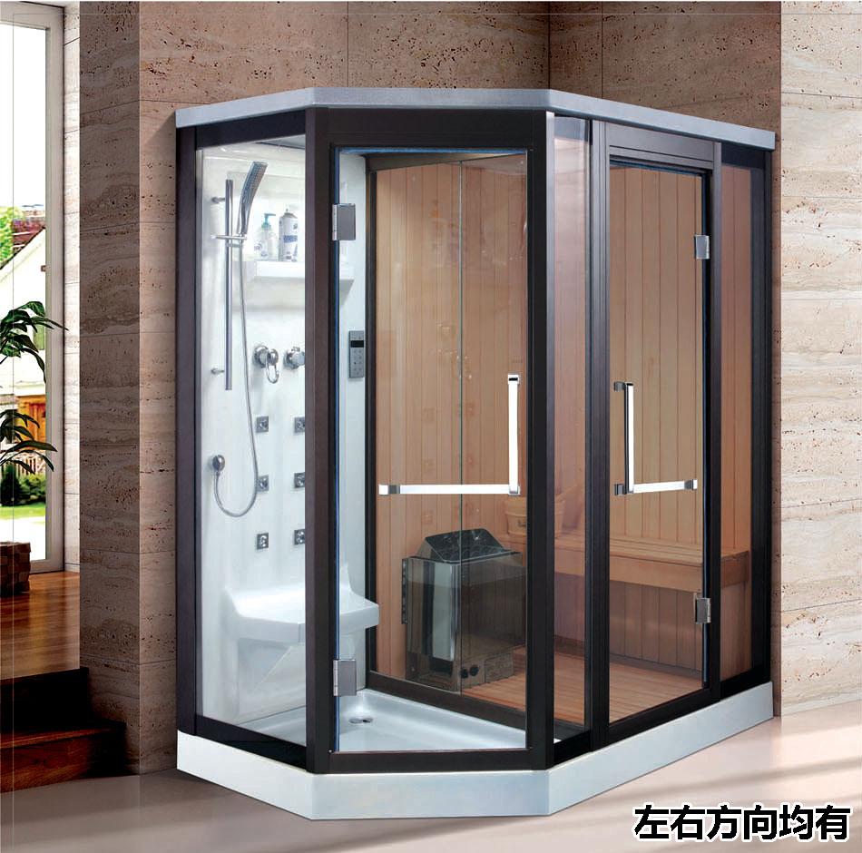 high quality sauna room steam shower combo