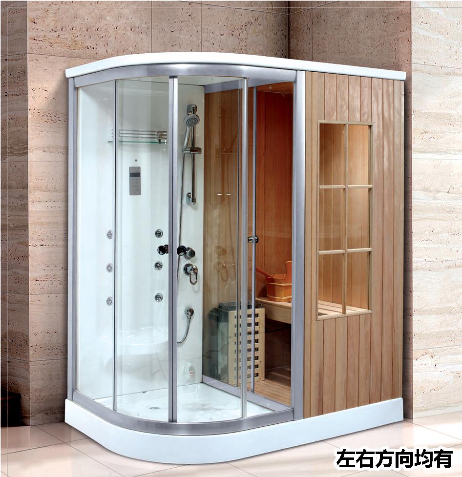 steam sauna shower combination