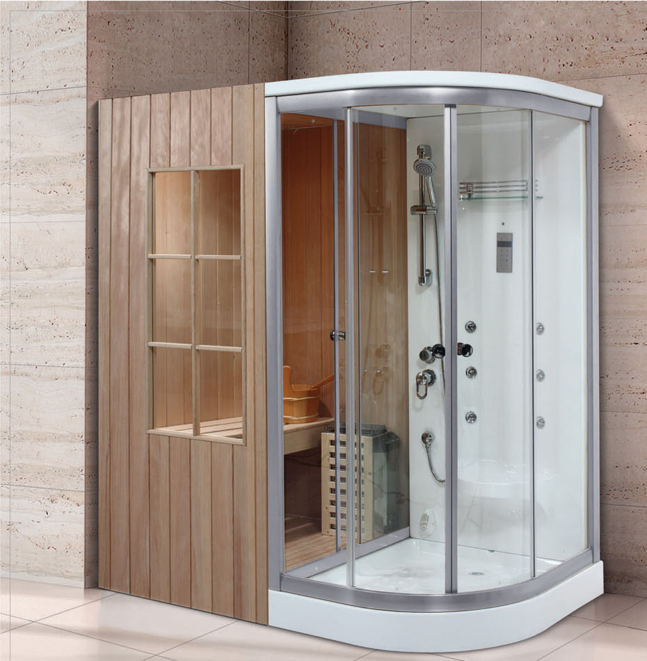 Steam Shower Sauna Combo Foshan Luxe Sanitary wares Co Ltd