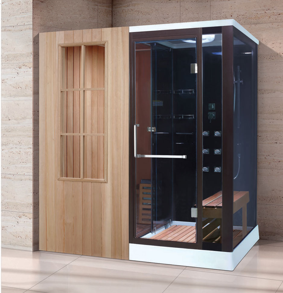 Customize Sauna Room Steam Shower