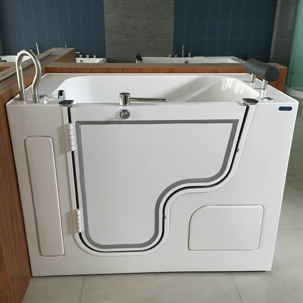 walk in tubs with accessible door wheelchair transfer tub