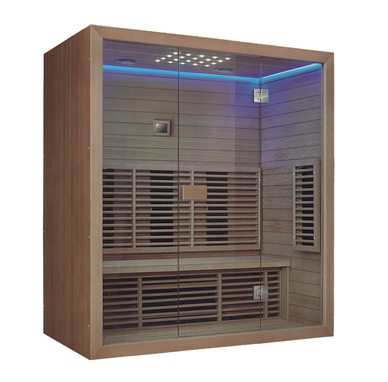 3-4 person infrared sauna cabin 1800x1000mm