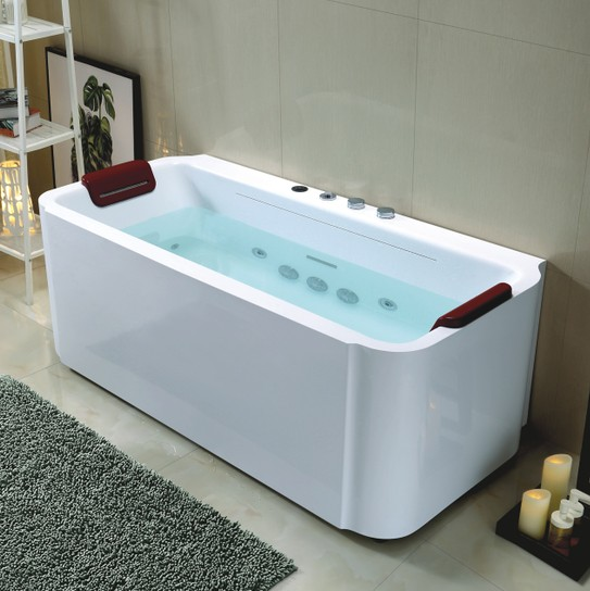 new design whirlpool bathtub with waterfall 1700×920 - Foshan Luxe ...
