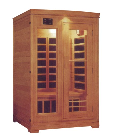 2 person infrared sauna cabin