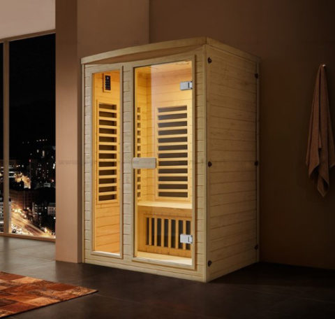 Far Infrared Sauna For Two Person With Control Panel